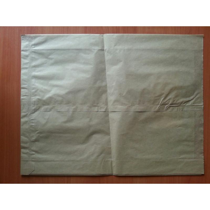 Бумажный пакет саше бурый 330х250х6...