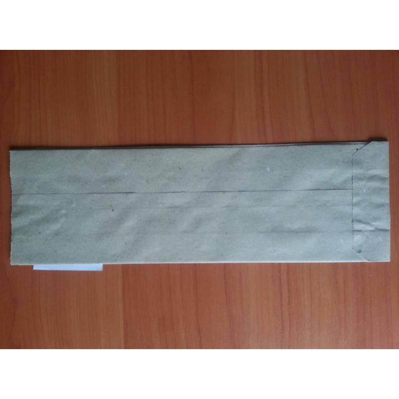 Бумажный пакет саше бурый 310х90х50...