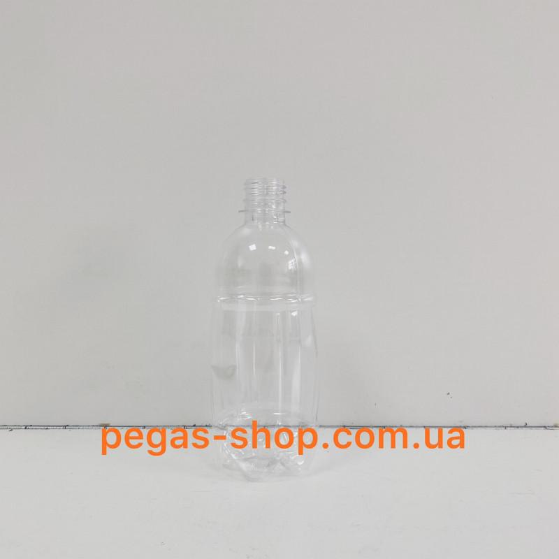 Бутылка ПЭТ бочонок 0.5 л. (прозрач...