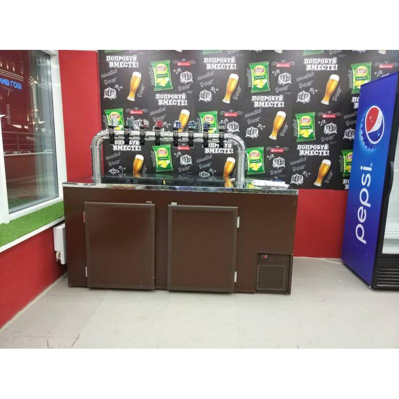 Камера холодильная на 6 кег ( кегератор)