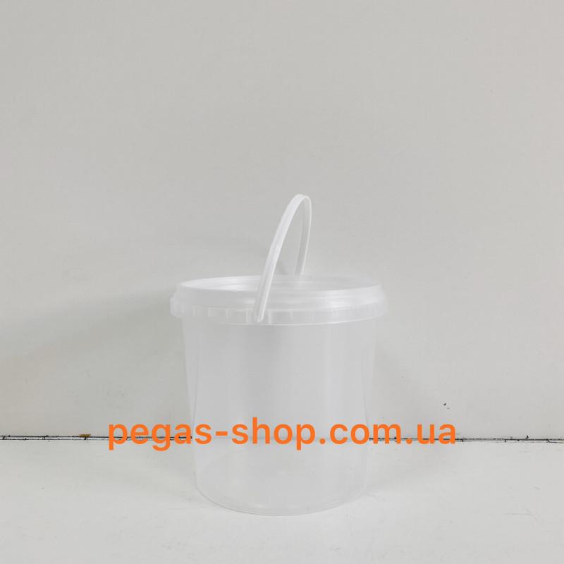 Пластиковое ведро 1л