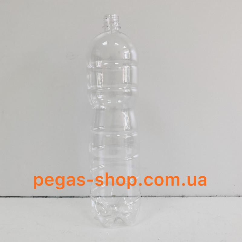 ПЭТ бутылка 2 л. прозрачная с крышк...