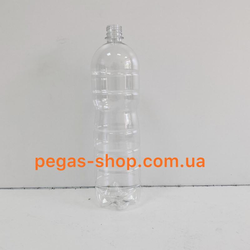 ПЭТ бутылка 1,5 л. прозрачная с кры...
