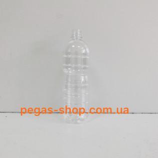 ПЭТ бутылка 1 л. прозрачная