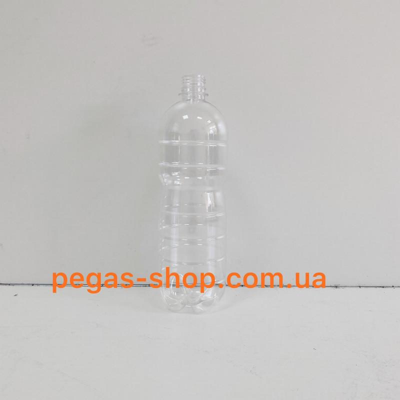 ПЭТ бутылка 1 л. прозрачная с крышк...