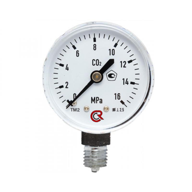 Манометр для углекислотный 0-16МПа
