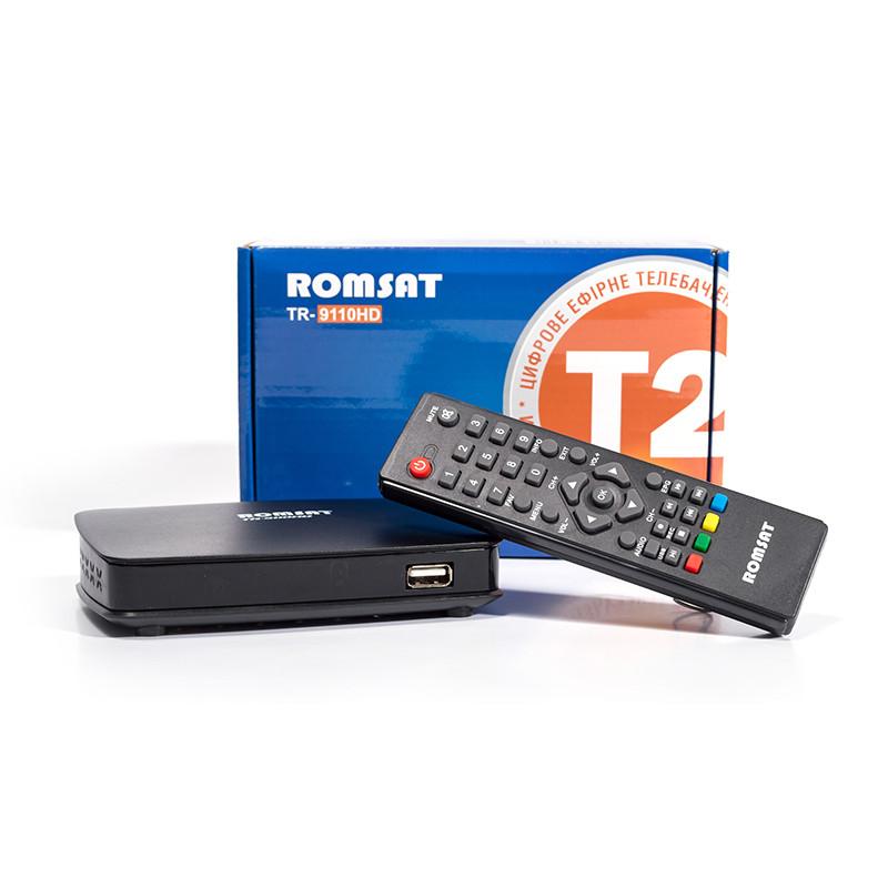 Ефірний приймач Romsat TR-9110HD (п...