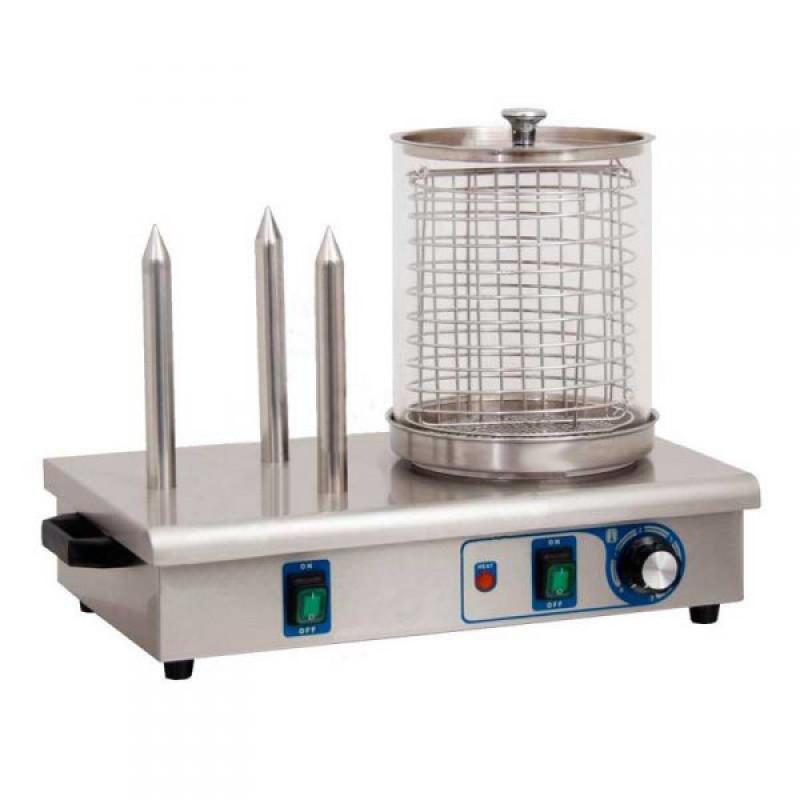 Аппарат для приготовления хот догов...