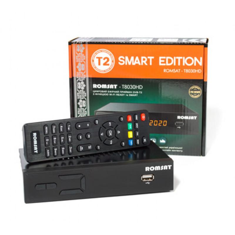 Ефірний приймач Romsat T8030HD (мет...