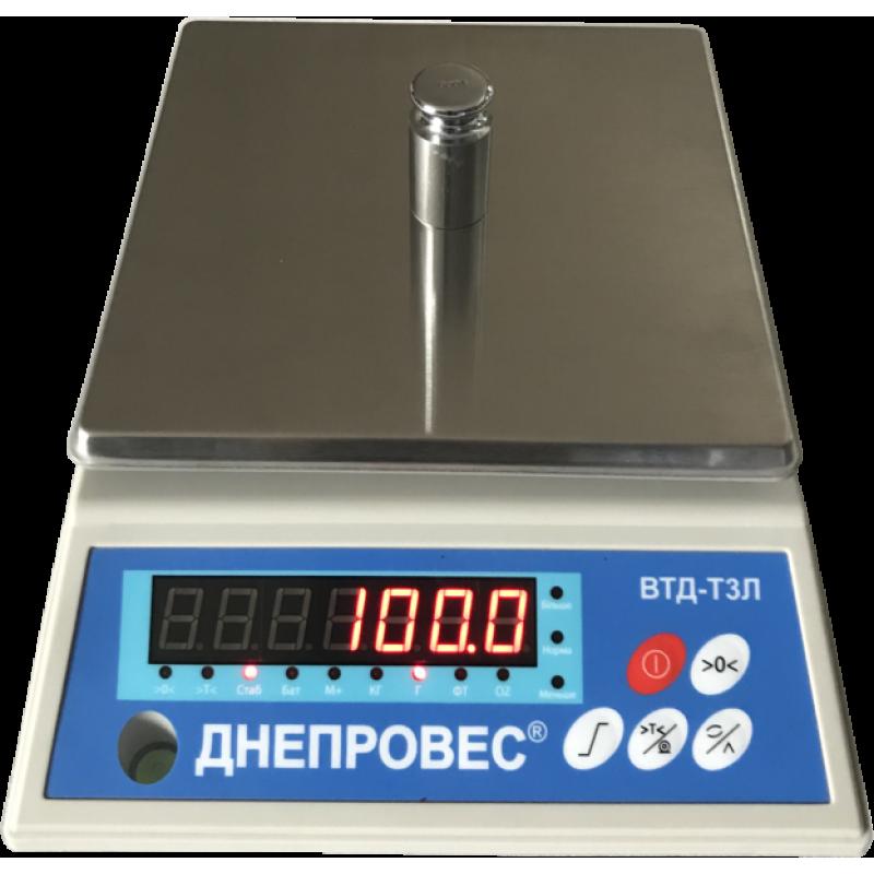 ВТД-1-ТЗЛ (Фасовочные весы повышенн...